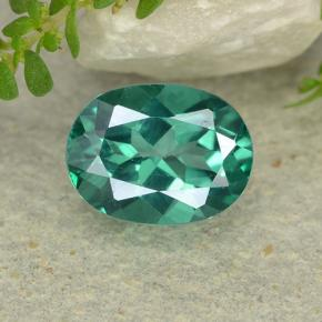 thumb image of 1.6ct Oval Facet Blue-Green Mystic Topaz (ID: 483318)