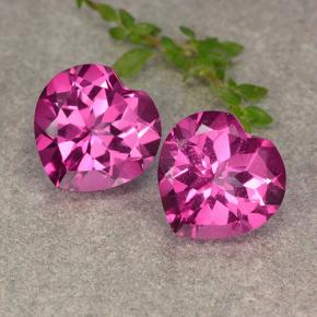 5.3ct Heart Facet Purplish Pink Mystic Topaz Gem (ID: 484626)