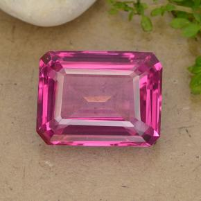 thumb image of 13.4ct Octagon Step Cut Purplish Pink Mystic Topaz (ID: 484922)