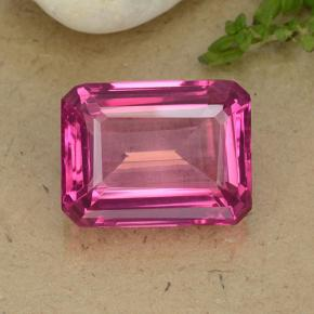thumb image of 14.6ct Octagon Step Cut Purplish Pink Mystic Topaz (ID: 484927)