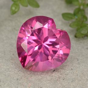 5.7ct Heart Facet Purplish Pink Mystic Topaz Gem (ID: 484967)