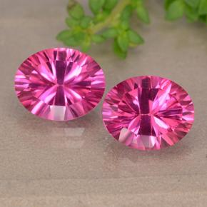 thumb image of 3.2ct Oval Concave Cut Purplish Pink Mystic Topaz (ID: 490097)