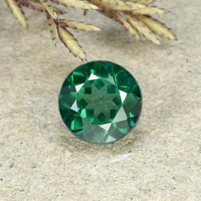 2.3ct Round Facet Blue-Green Mystic Topaz Gem (ID: 492704)