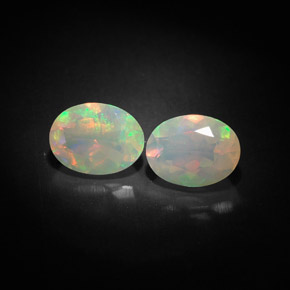 Buy 1.68 ct Multicolor Opal 8.01 mm x 6.1 mm from GemSelect (Product ID: 303330)