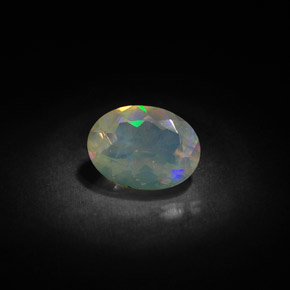 Buy 0.83 ct Multicolor Opal 8.17 mm x 6.1 mm from GemSelect (Product ID: 303923)