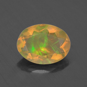 Buy 0.74 ct Multicolor Opal 7.97 mm x 6 mm from GemSelect (Product ID: 309279)