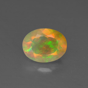 Buy 0.81ct Multicolor Opal 7.76mm x 5.96mm from GemSelect (Product ID: 309312)