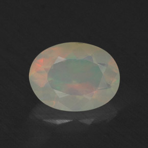Buy 0.64 ct Multicolor Opal 7.87 mm x 6 mm from GemSelect (Product ID: 309335)
