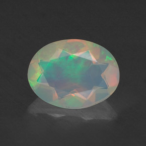 Buy 0.66ct Multicolor Opal 8.16mm x 6.19mm from GemSelect (Product ID: 309338)