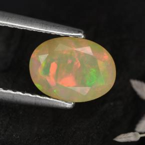 Buy 0.72 ct Yellow Opal 7.98 mm x 5.9 mm from GemSelect (Product ID: 309393)