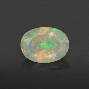 Buy 0.74 ct Multicolor Opal 8.06 mm x 6 mm from GemSelect (Product ID: 309399)
