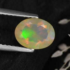Buy 0.75 ct Multicolor Opal 8.10 mm x 6.3 mm from GemSelect (Product ID: 309404)