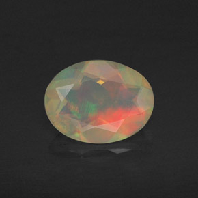 Buy 0.74 ct Multicolor Opal 8.17 mm x 6.2 mm from GemSelect (Product ID: 309432)