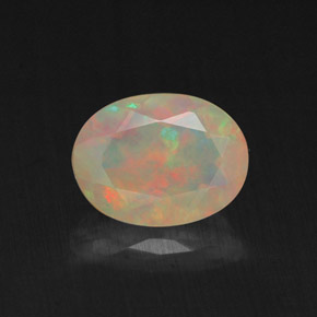 Buy 0.85 ct Multicolor Opal 8.15 mm x 6.1 mm from GemSelect (Product ID: 309437)
