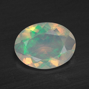 Buy 0.59 ct Multicolor Opal 7.99 mm x 6.1 mm from GemSelect (Product ID: 309453)