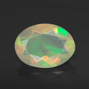 Buy 0.60 ct Multicolor Opal 8.04 mm x 5.9 mm from GemSelect (Product ID: 309454)