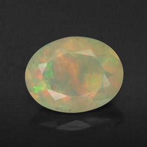 Buy 0.80 ct Multicolor Opal 7.98 mm x 6.2 mm from GemSelect (Product ID: 309460)