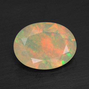 Buy 0.66 ct Multicolor Opal 8.17 mm x 6.1 mm from GemSelect (Product ID: 309461)