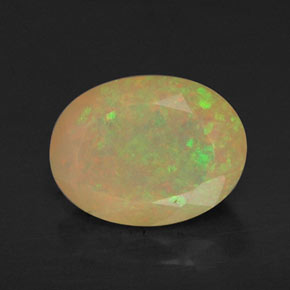 Buy 0.87 ct Multicolor Opal 8.02 mm x 6.1 mm from GemSelect (Product ID: 309462)