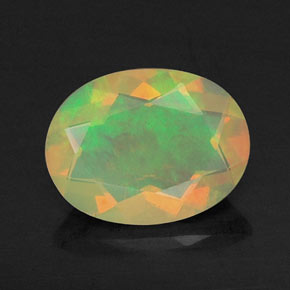 Buy 0.72 ct Multicolor Opal 8.27 mm x 6.3 mm from GemSelect (Product ID: 309464)