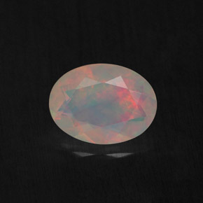 Buy 0.77 ct Multicolor Opal 8.09 mm x 6.1 mm from GemSelect (Product ID: 309478)