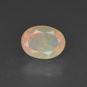 Buy 0.63ct Multicolor Opal 7.94mm x 5.96mm from GemSelect (Product ID: 309483)