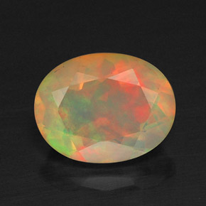Buy 1.20 ct Multicolor Opal 8.90 mm x 7 mm from GemSelect (Product ID: 310283)
