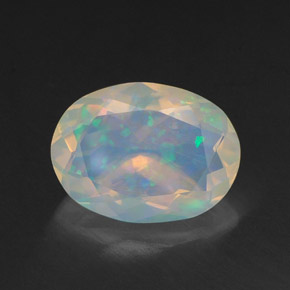 Buy 1.41 ct Multicolor Opal 10.18 mm x 7.6 mm from GemSelect (Product ID: 311837)