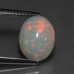 Buy 1.88 ct Multicolor Opal 11.04 mm x 8.6 mm from GemSelect (Product ID: 313114)