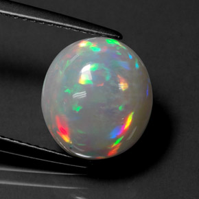 Buy 4.41ct Multicolor Opal 11.61mm x 10.40mm from GemSelect (Product ID: 313225)
