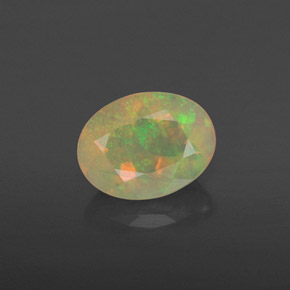 Buy 0.84 ct Multicolor Opal 7.95 mm x 6.1 mm from GemSelect (Product ID: 313301)