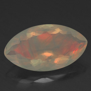 1.81 ct Natural Multicolor Opal