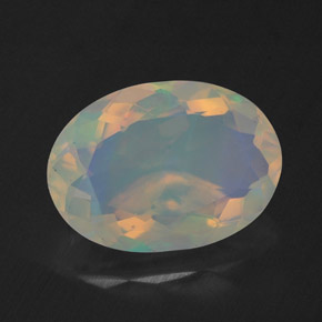 Buy 1.67 ct Multicolor Opal 10.79 mm x 7.8 mm from GemSelect (Product ID: 314777)