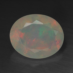 Buy 1.99 ct Multicolor Opal 11.03 mm x 9 mm from GemSelect (Product ID: 315163)
