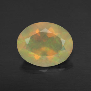 Buy 1.36 ct Multicolor Opal 10.07 mm x 8 mm from GemSelect (Product ID: 315329)