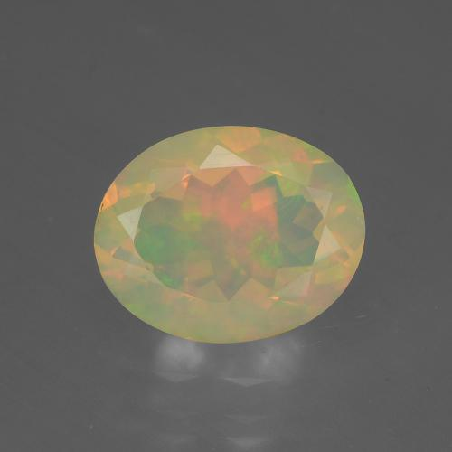 Buy 1.44 ct Multicolor Opal 9.89 mm x 7.9 mm from GemSelect (Product ID: 316636)