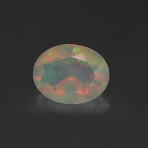Buy 1.01 ct Multicolor Opal 9.06 mm x 7.1 mm from GemSelect (Product ID: 318185)