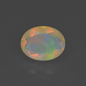 Buy 1.02ct Multicolor Opal 9.09mm x 7.03mm from GemSelect (Product ID: 318187)