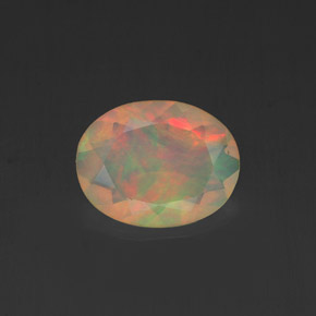 0.84 ct Natural Multicolor Opal