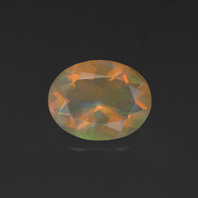 0.96 ct Natural Multicolor Opal