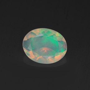 Buy 0.75 ct Multicolor Opal 8.69 mm x 6.9 mm from GemSelect (Product ID: 318272)