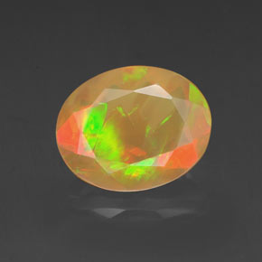 Buy 1.50 ct Multicolor Opal 10.03 mm x 8 mm from GemSelect (Product ID: 318322)
