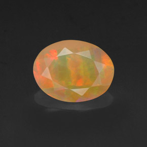 0.97 ct Natural Multicolor Opal