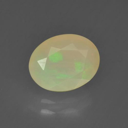 Buy 1.09 ct Multicolor Opal 9.02 mm x 7.1 mm from GemSelect (Product ID: 318387)
