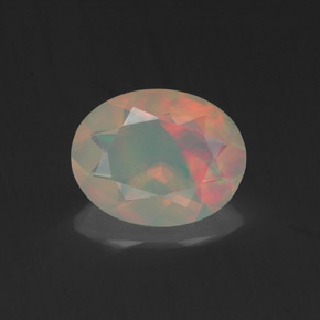 Buy 0.96 ct Multicolor Opal 9.01 mm x 7.1 mm from GemSelect (Product ID: 318403)