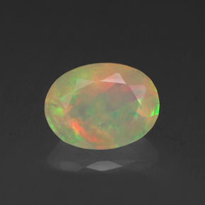 Buy 0.87 ct Multicolor Opal 8.22 mm x 6.2 mm from GemSelect (Product ID: 319192)