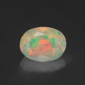 Buy 0.96 ct Multicolor Opal 8.11 mm x 6.1 mm from GemSelect (Product ID: 319253)