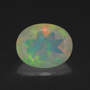 Buy 1.58 ct Multicolor Opal 10.10 mm x 8 mm from GemSelect (Product ID: 320216)