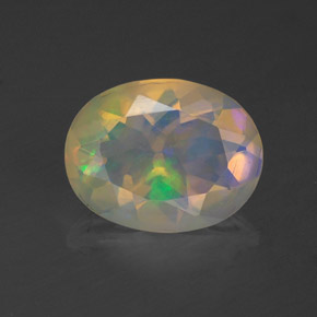 Buy 1.12 ct Multicolor Opal 9.27 mm x 7.2 mm from GemSelect (Product ID: 321216)