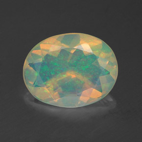 Buy 1.38 ct Multicolor Opal 10.08 mm x 7.9 mm from GemSelect (Product ID: 321217)